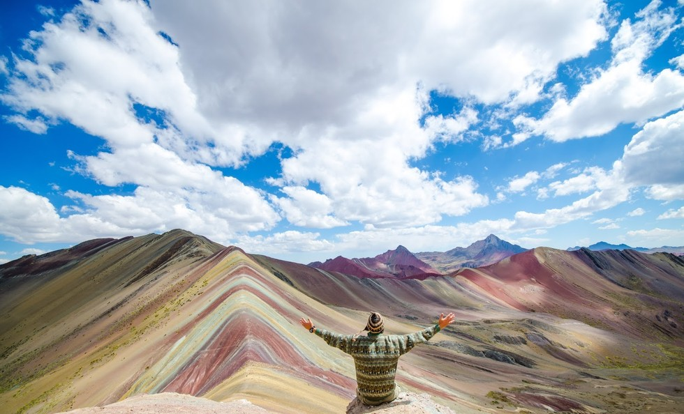 Crowds Are Smaller at Rainbow Mountain Peru