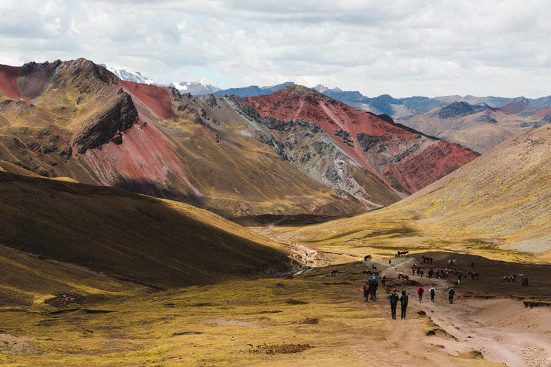 Tough Trek Up to Rainbow Mountain Peru
